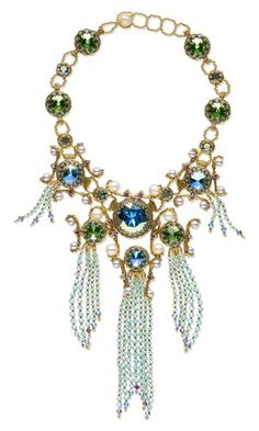 Melissa Grakowsky - Bib-Style Necklace with SWAROVSKI ELEMENTS, Cultured Freshwater Pearls and Seed Beads - Fire Mountain Gems and Beads