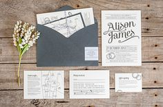 Super adorable wedding stationery from http://www.daisyandjack.com.au/ Photography By / http://photographybynadean.com.au/,Floral Design By / http://aleksandra.com.au