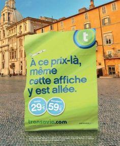 """Les Gaulois pour Transavia - compagnie aérienne Transavia.com, """"Partez, volez, souriez"""" - novembre 2013 - Support print - Toutes les images"""