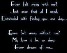 "~NightWish,  ""Ever Dream"""
