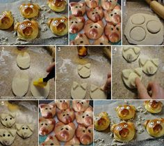 Come fare maialini di pane - Spettegolando