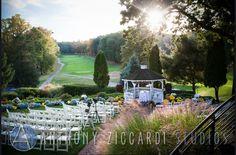 Fall Ceremony #anthonyziccardi #fallwedding #fallceremony