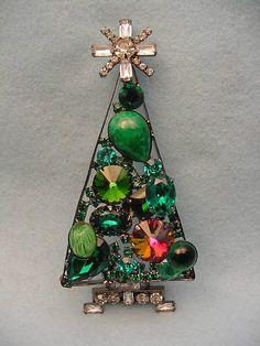 Christmas Tree Pin by Lawrence Vrba