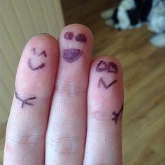 Finger men