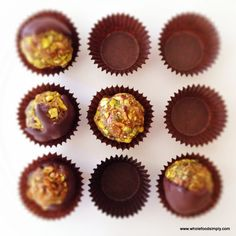 These simple and delicious fig and pistachio truffles are truly divine! They use four ingredients and only take a minute of your time. Be sure to try them.
