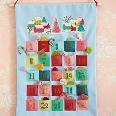 Candy village Advent calendar | TheMakingSpot