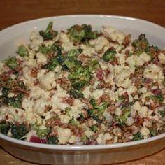 Barb's Broccoli-Cauliflower Salad Allrecipes.com