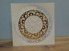 S6 Crafting - Tonic Verso dies used for a wedding card