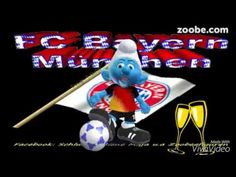Happy Birthday -  Zum Geburtstag..alles Gute ;) Bayern München, Schlumpf...