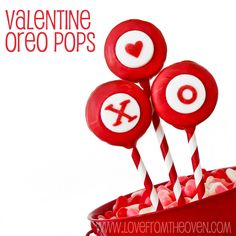 #Valentine @Oreo Pops at Love From The Oven