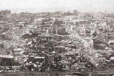 Huracán San Zenón. Devastó la capital el 3 de septiembre del 1930, cuando Rafael Leonidas Trujillo llevaba apenas dos semanas en el poder.
