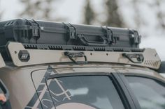 Longer, wider, and more bars than any rack out there this is the best of the best of roof racks for a Tacoma. The load out variations are endless with this rack. Easily mount a roof top tent, pelican cases, traction boards, fuel cans, and more. Free Shipping. Color Matching. Customer Service. Top Tents, Roof Top Tent, Toyota Tacoma Roof Rack, Roof Storage, Vehicle Storage, Castle Rock Co, Pelican Case, Barcelona, Extruded Aluminum