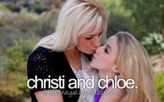 I love their relationship! ❤️ Christi is such a great mother and Chloe and her little sister, Clara are amazing daughters. ❤️