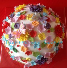 Flower cake by Taarten van Guusje