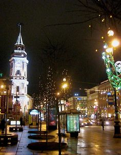 images of christmas scenes in russia | Christmas in Saint Petersburg, Russia