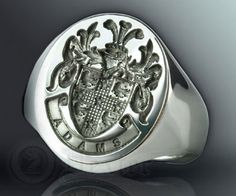 I really want a signet ring. There's something about knowing where you come from.