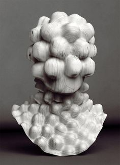 white - bust - 'New Age' -Sculpture - Jon Rafman