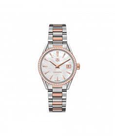 TAG Heuer Carrera 100 M - 32 mm Rose Gold & Diamonds WAR1353.BD0779 TAG Heuer watch price