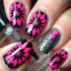 Orly Neon Heat ; Sephora Formula X Revolution ; BP L008. ; 5/12/15 ; canadiannailfanatic