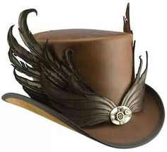 Steampunk hats for men in wedding