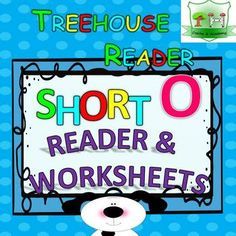 Short O Reader: This reader is to practice reading short O words in simple sentences.Perfect to start reading with your little ones.   Additionally flashcards and a worksheet pack of 10 worksheets is included in this reader.  READER - FLASHCARDS - WORKSHEETS