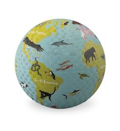 Crocodile Creek World Play Ball Kids World Map, Toys For Us, Eco Kids, World Play, Educational Toys For Kids, Crocodiles, Yellow Painting, Baby Play, Toddler Toys