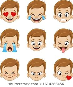 Emoticon Kiss Emoji Vector Images (over Book Activities, Preschool Activities, Emotions Preschool, Kiss Emoji, Emoji Characters, Emoticon Faces, Emoji Design, Beautiful Love Pictures, Boy Face