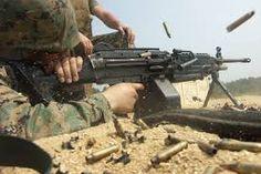 Image result for M249 light machine gun