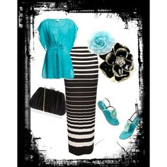 """""""Black and Blue"""" by monemaantje on Polyvore"""