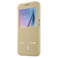 Baseus Galaxy S6 Flip Case,BbYuhan Touch Series View Window Folio Flip Pu Leather Case Magnetic Closure,Unique Case For Samsung Galaxy S6 With Stand & Metal Sensor Feature Khaki Color Baseus http://www.amazon.com/dp/B0107P15FG/ref=cm_sw_r_pi_dp_I6AJwb16XJA20