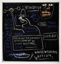 Jean-Michel Basquiat – Rinso, 1982-2003 - http://cowboyzoom.com/art/jean-michel-basquiat-3/ #Edition, #Jean-MichelBasquiat, #LimitedEdition, #Print, #Screenprint