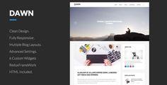 Dawn .. Clean WordPress Theme For Blogs