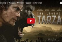 """""""Tarzan"""". When you hear the name, what comes to your mind? A strong muscled boy living in a jungle with animals. Right? But guess what, the upcoming movie """"The Legend Of Tarzan"""" has a different story of Tarzan."""