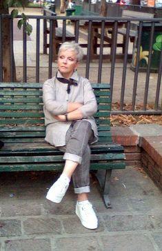 Возрастная мода: как совместить стиль и пенсию.