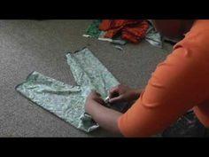 How to make Children's Pants (basic) - YouTube