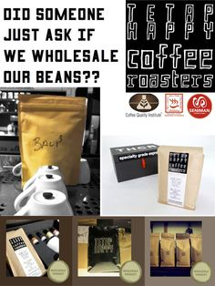Seniman's own roasted coffee beans for Wholesale
