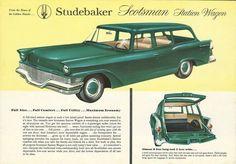 1958 Studebaker Scotsman Station Wagon