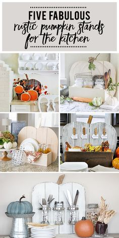 DIH Rustic Pumpkin S