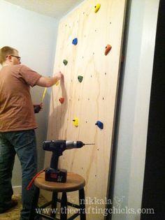 climbing wall tutorial