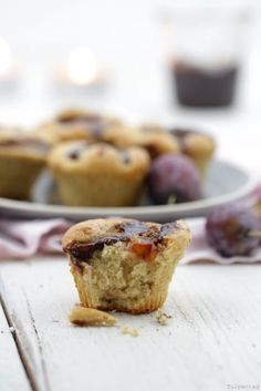 Muffins mir Zimt und Zwetschgen für den Herbst und Winter. Einfach und schnell zu machen. Muffins backen. Cupcakes, Cookies, Breakfast, Sweet, Desserts, Food, Inspiration, Biscuits, Mudpie