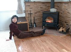 forums.finehomebuildin...wall for wood stove?