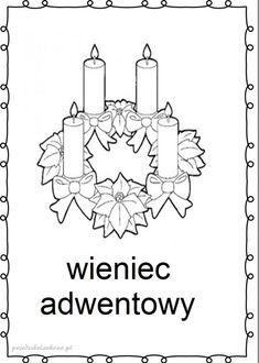 tradycje-kolorowanki6 Xmas, Christmas, Advent, Coloring Pages, Religion, Bible, Cards, Decor, Descendants