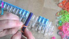 Pulsera Rainbow Loom de gomas elásticas-bracelet