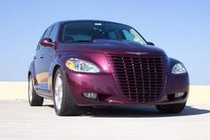 Urethane Smoothie Front Fascia with Retro Full Grille: PTeazer Pt Cruiser Accessories, Dark Purple Aesthetic, Chrysler Pt Cruiser, Aftermarket Parts, Cars And Motorcycles, Smoothie, Retro, Muscle Cars, Hot Rods