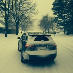 Snowed in? #MDX owners like Rose C. don't understand that concept. Don't forget to share your #AcuraStories.