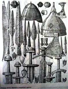 10th - 11th? Century  weapons from Prussia