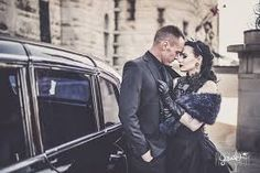 Halloween themed wedding, Gothic wedding Themed Weddings, Gothic Wedding, Halloween Themes, Wedding Inspiration, Fictional Characters, Fantasy Characters
