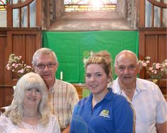 Pudsey branch supports St John's Church