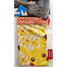 Pokemon Center 2014 Pikachu Micro Fiber Mobile Phone Pouch