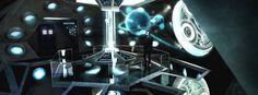 15 TARDIS Interiors You Wish Were Real 12. Sleek and Modern.